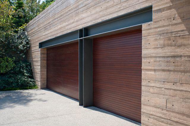 O Brien Garage Doors Garage and Shed Contemporary with Double Garage on redwood garage doors, wilson garage doors, anderson garage doors, kelly garage doors, brown garage doors, wood garage doors, white garage doors,