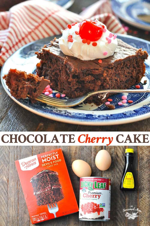 Chocolate Cherry Cake Recipe Chocolate Cherry Cake Chocolate Cake Mix Recipes Cake Mix Recipes