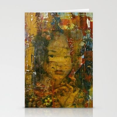 Girl Stationery Cards by LadyJennD - $12.00