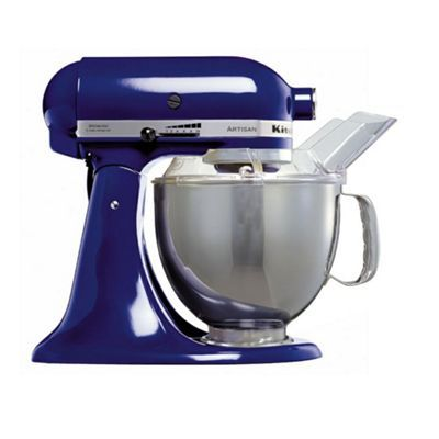 KitchenAid Artisan KSM150BBU Cobalt Blue stand mixer at debenhams ...