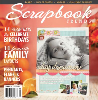 Scrapbook Trends Magazine: April 2012 | Northridge Publishing