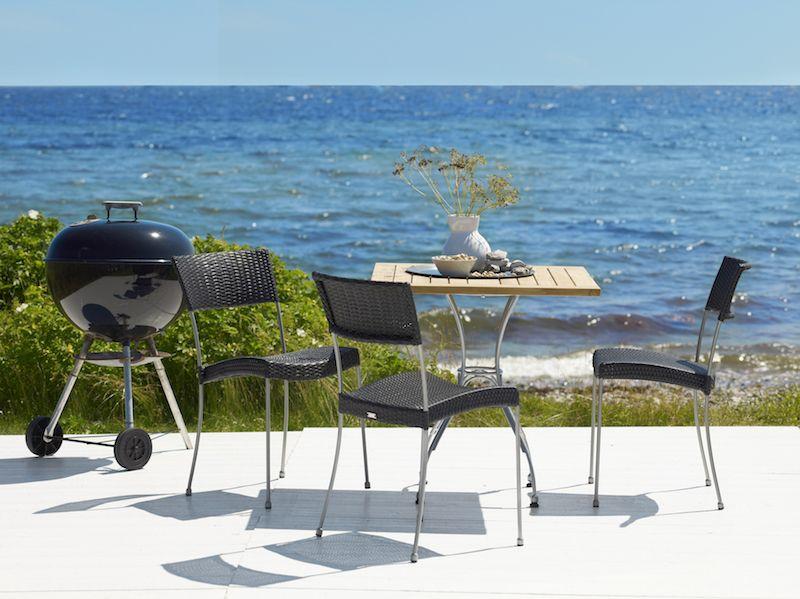Sika-Design Atlas Cafébord - Teak, 70x70