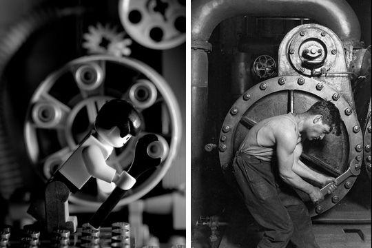 -Potencia mecánica-. Lewis Hine (1920)