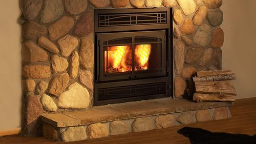 Z42 Bring Together A Zero Clearance Woodburning Fireplace And The