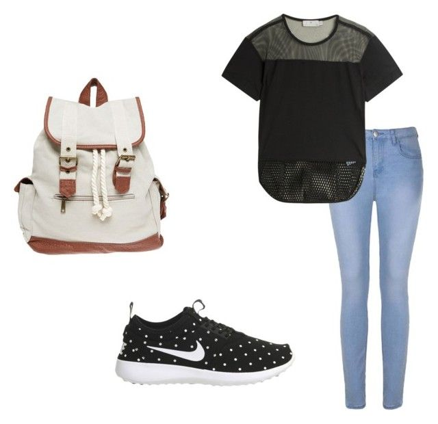 """back to school"" by destinyxx8 on Polyvore featuring Ally Fashion, adidas, NIKE and Wet Seal"