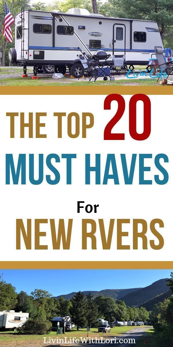 Photo of 20 Must Haves For New RVers | Livin' Life With Lori