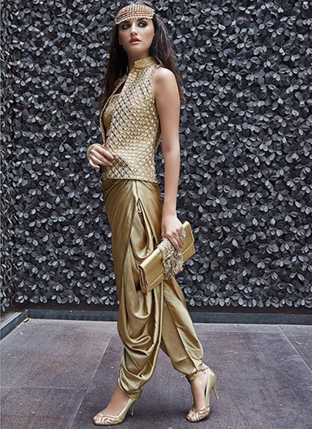 Splendid Golden Jacket Style Suit Shopneezcom Salwar Suits Jfashion Etchnic Long Tunik Fashion Elegan Shareen