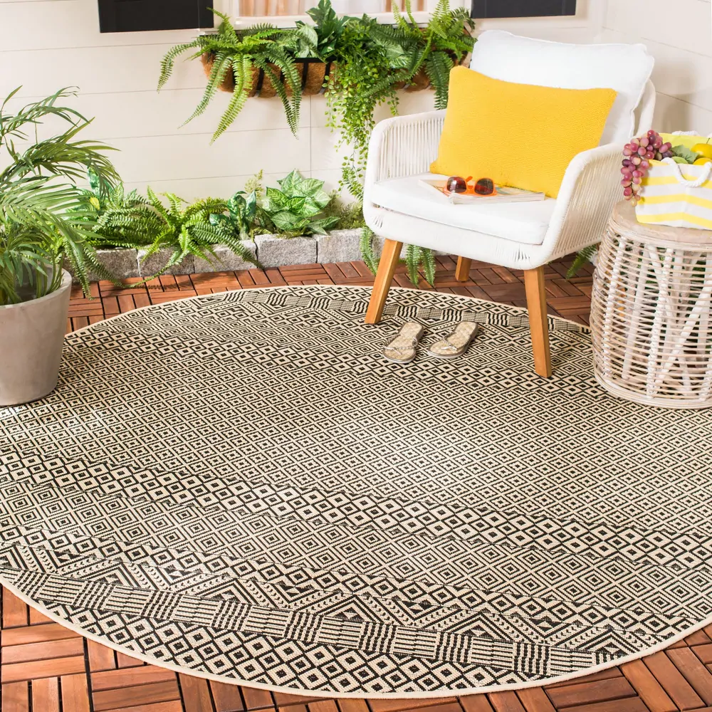 Safavieh Courtyard Velia Indoor Outdoor Rug In 2020 Outdoor