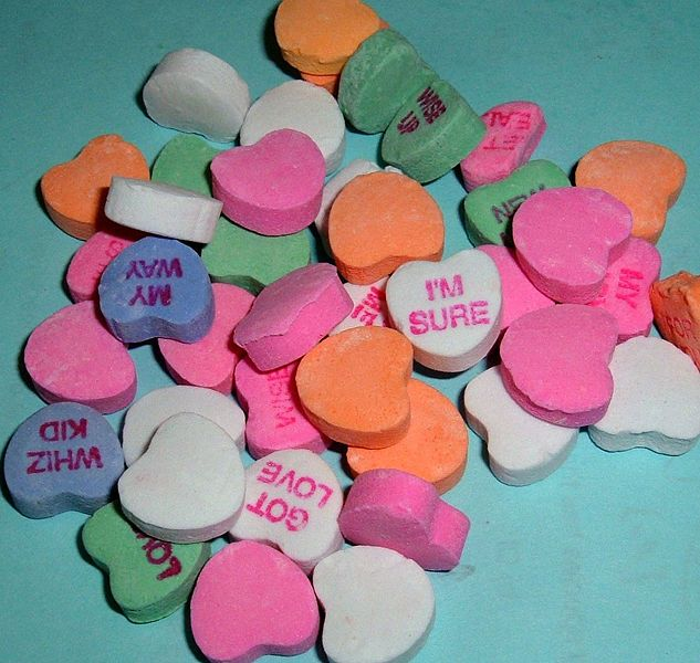 @Kelsey Phipps- For a game for next club- split them into teams- give them two boxes of these and make them write out a story or letter using these candies and gluing it on a piece of paper.