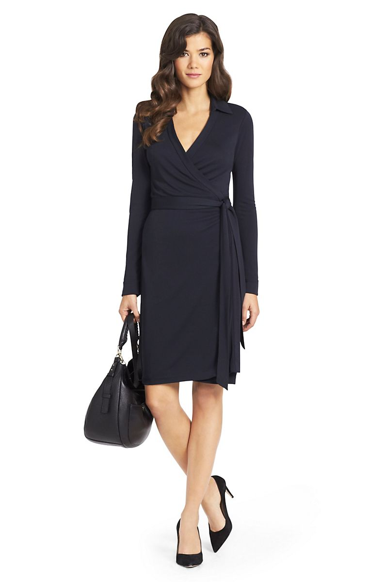 a3324228177 New Jeanne Two Matte Jersey Wrap Dress | Landing Pages by DVF ...