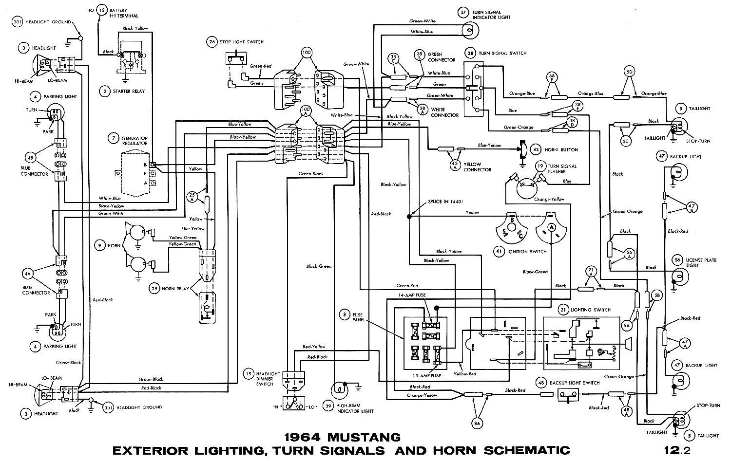 Awesome 1966 Ford Mustang Wiring Diagram In 2020 1965 Mustang 1966 Ford Mustang Mustang