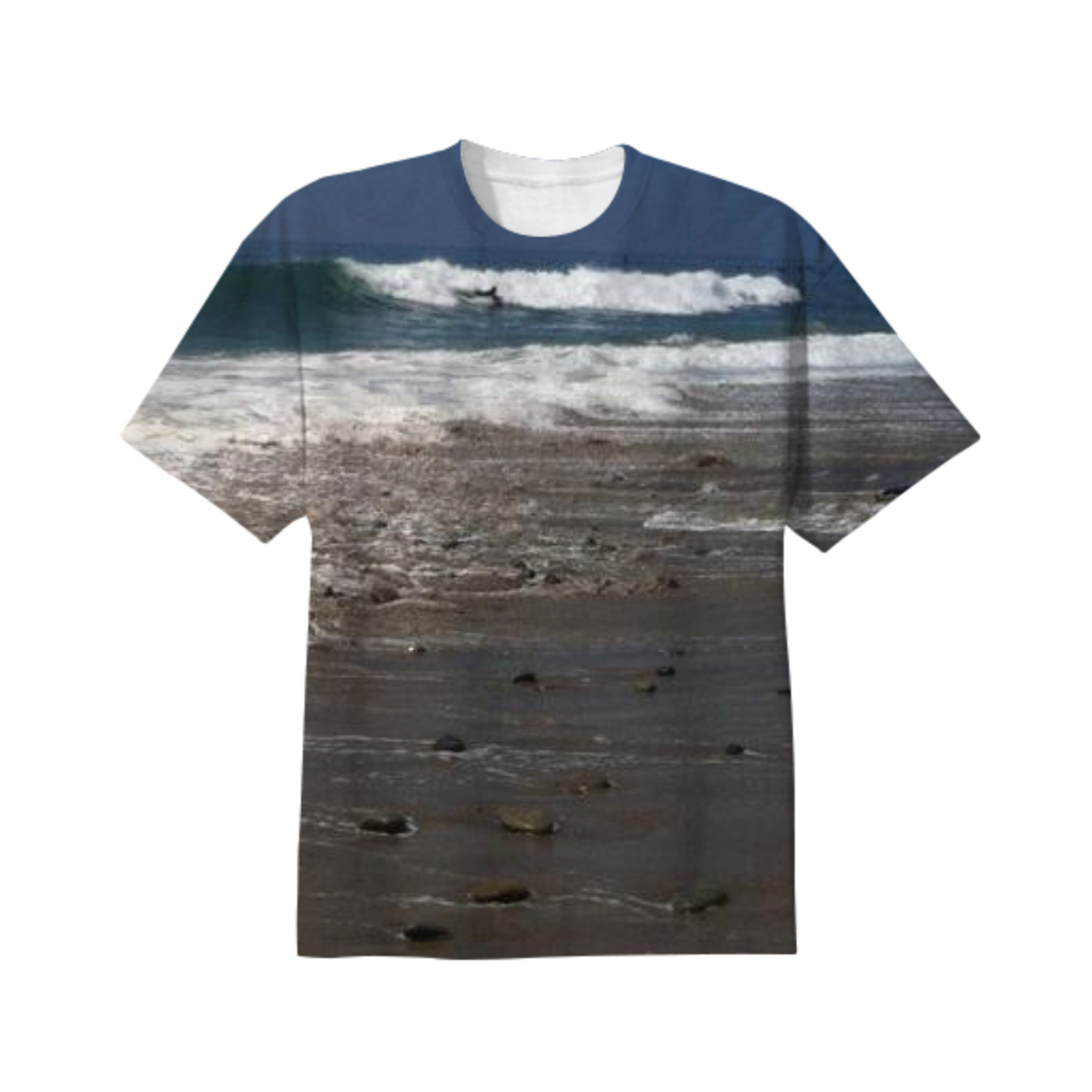 Malibu Wave Tee from Print All Over Me