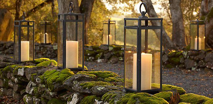 Restoration Hardware Outdoor, Outdoor Lantern, Outdoor Lighting, Lantern  Lighting, Patio Ideas, Yard Ideas, Outdoor Ideas, Outdoor Spaces, Metal  Lanterns