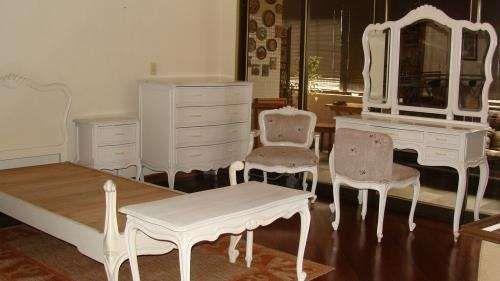 Dormitorio completo estilo luis xv muebles pinterest for Juego de dormitorio luis xvi