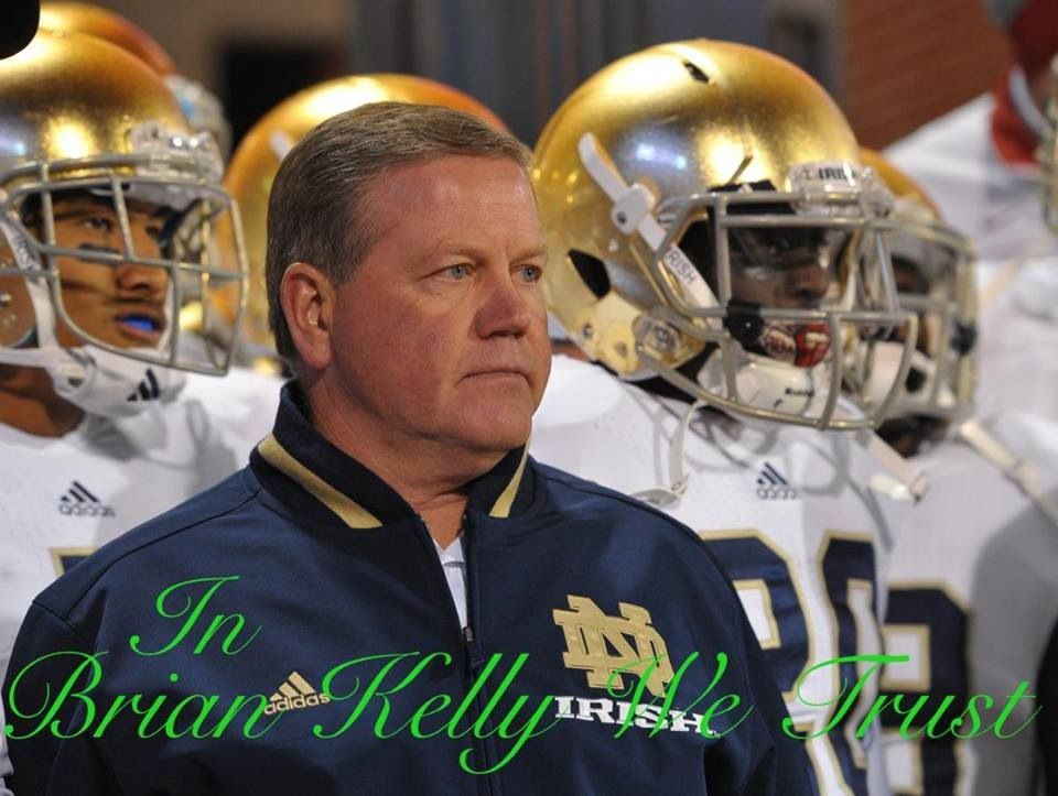 Coach brian kelly college football coaches notre dame