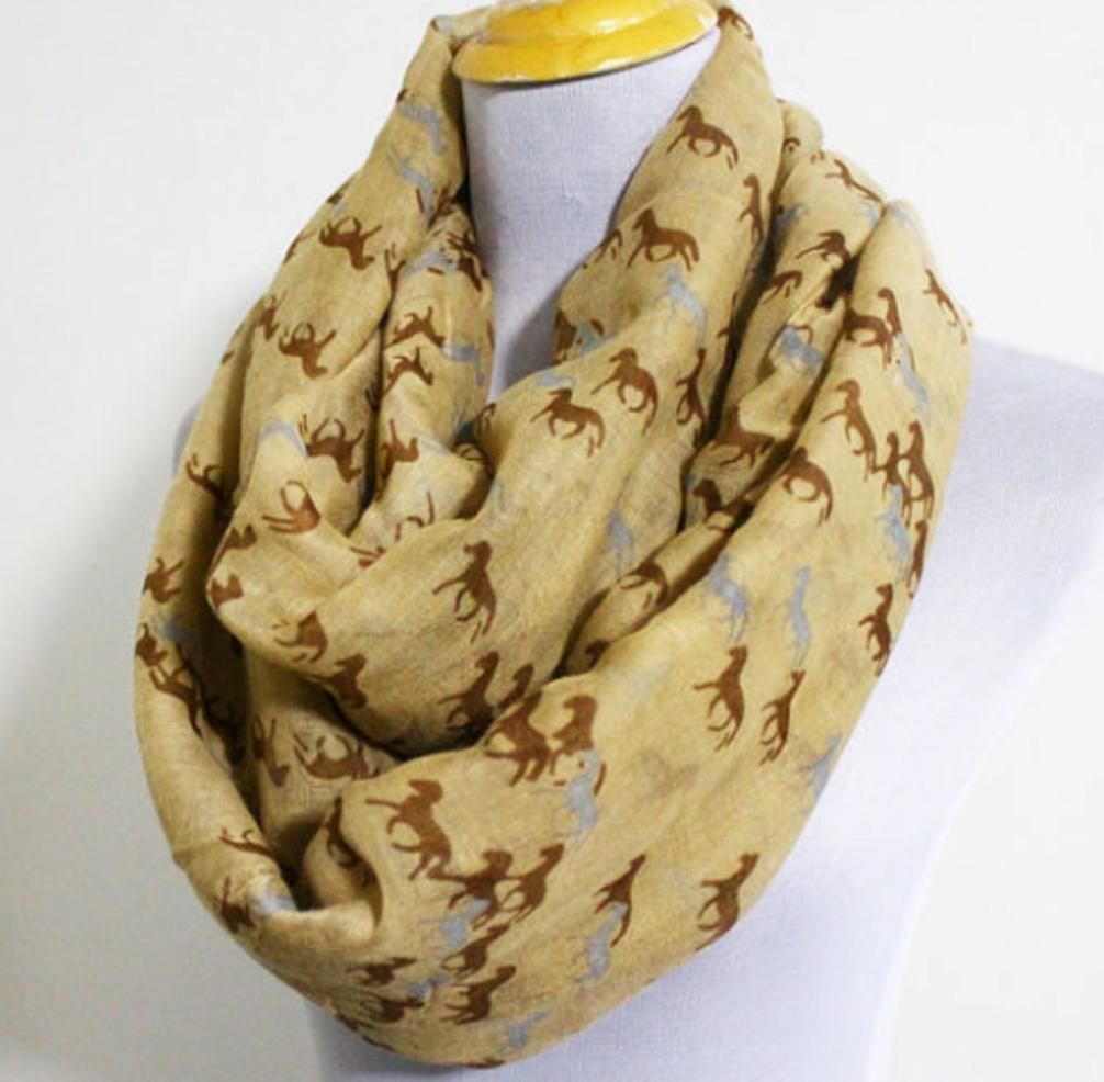 Equestrian Infinity Scarves in Five Fab Colors   Products ...