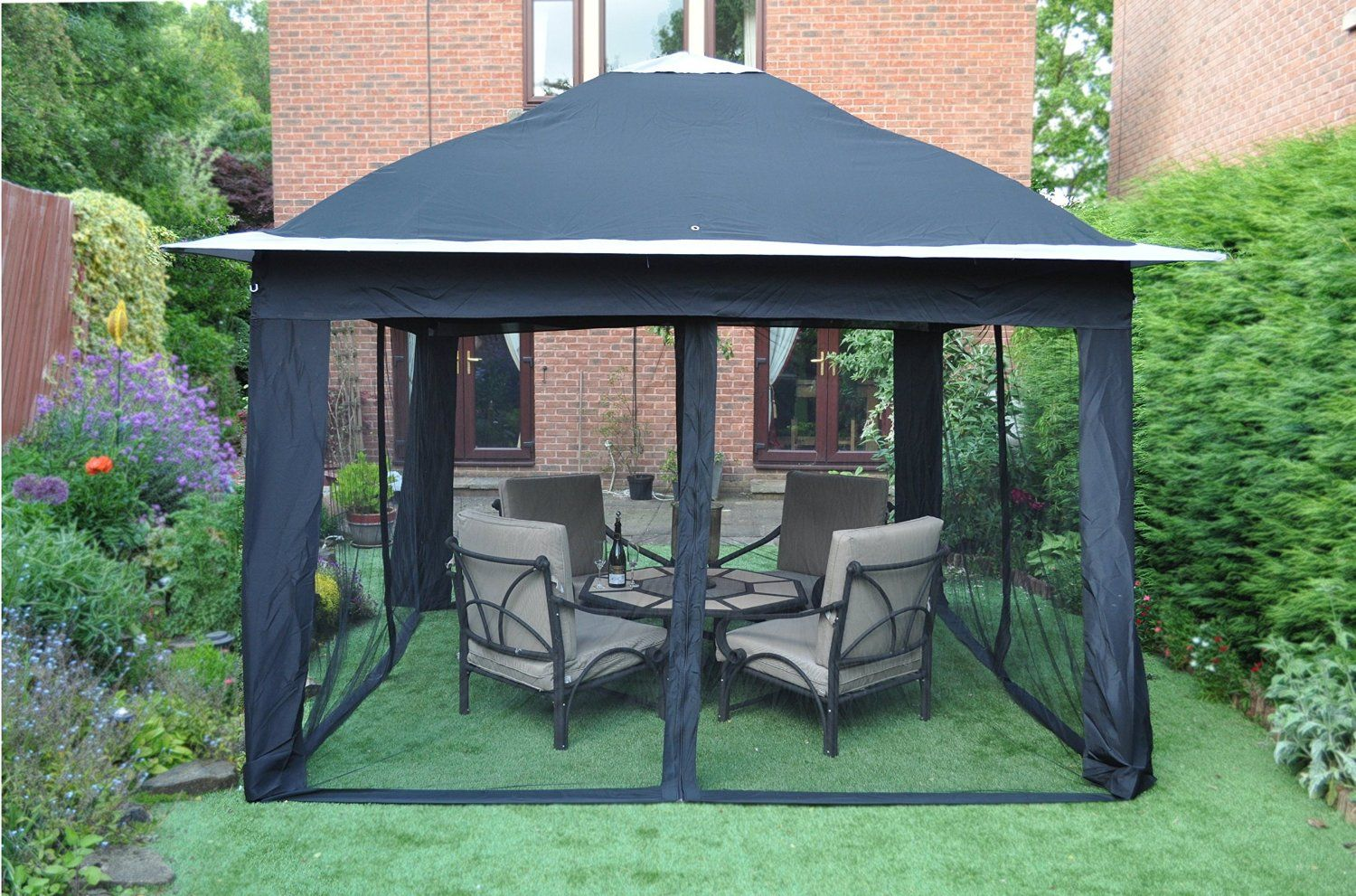 Pop Up Gazebo Bunnings Marquee Outdoor Party Pavilion Instructions Bunnings Marquee