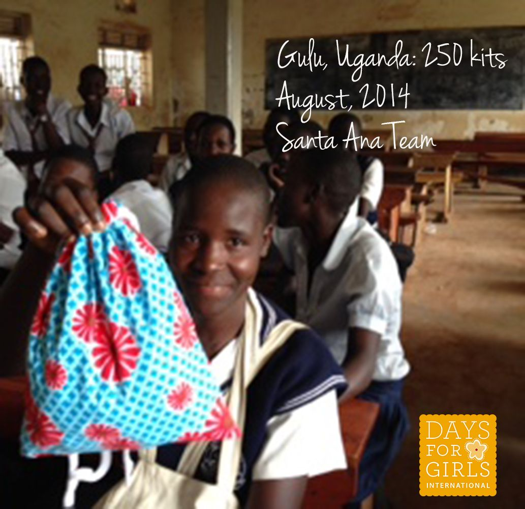 Gulua uganda distribution august 2014 days for girls
