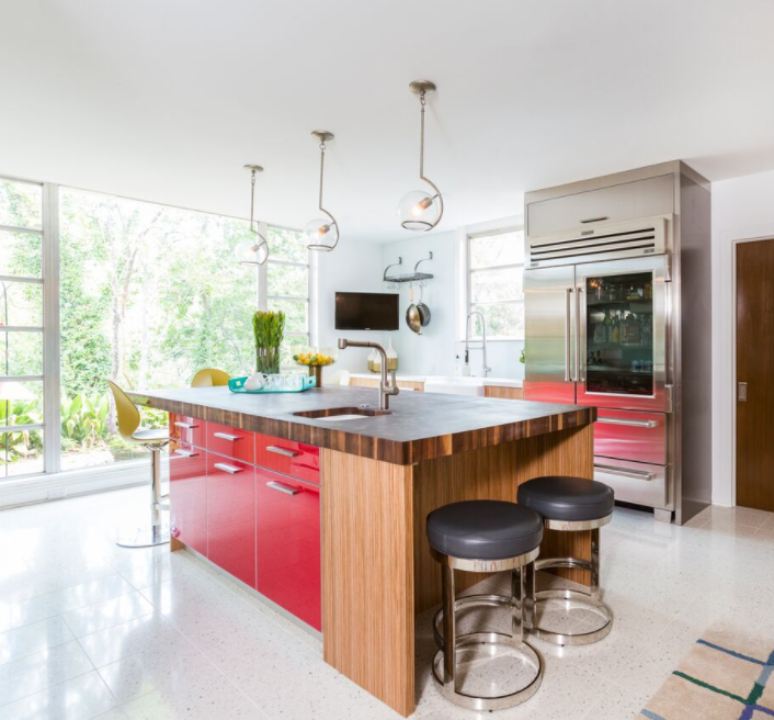 Best A Mid Century Modern Kitchen Complete And Ready For 400 x 300
