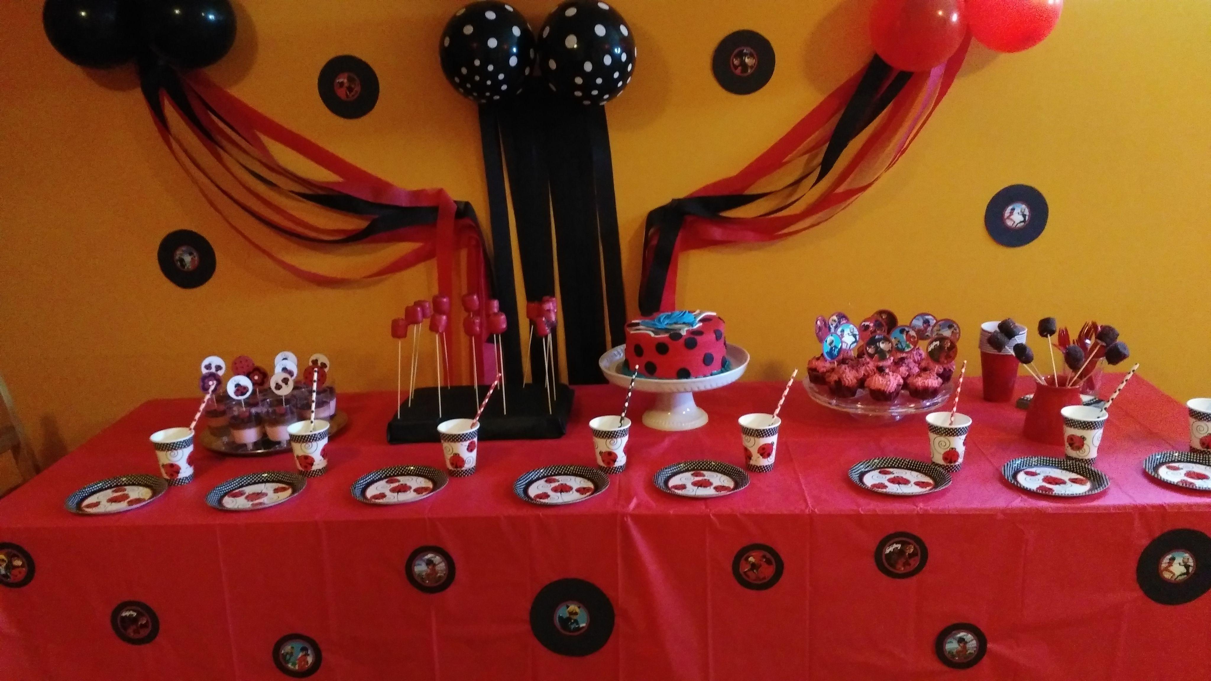 Pin By Irena Naceva On Ladybug And Chat Noir Miraculous Ladybug Birthday Party Ideas Ladybug Birthday Miraculous Ladybug Birthday Party