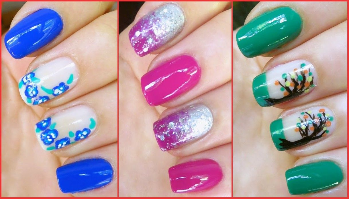 Cute And Fresh Summer Nail Art For Your Inspirations | Summer nail ...