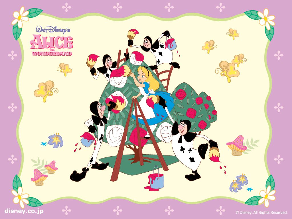 Alice In Wonderland Wallpaper Alice In Wonderland Wallpaper