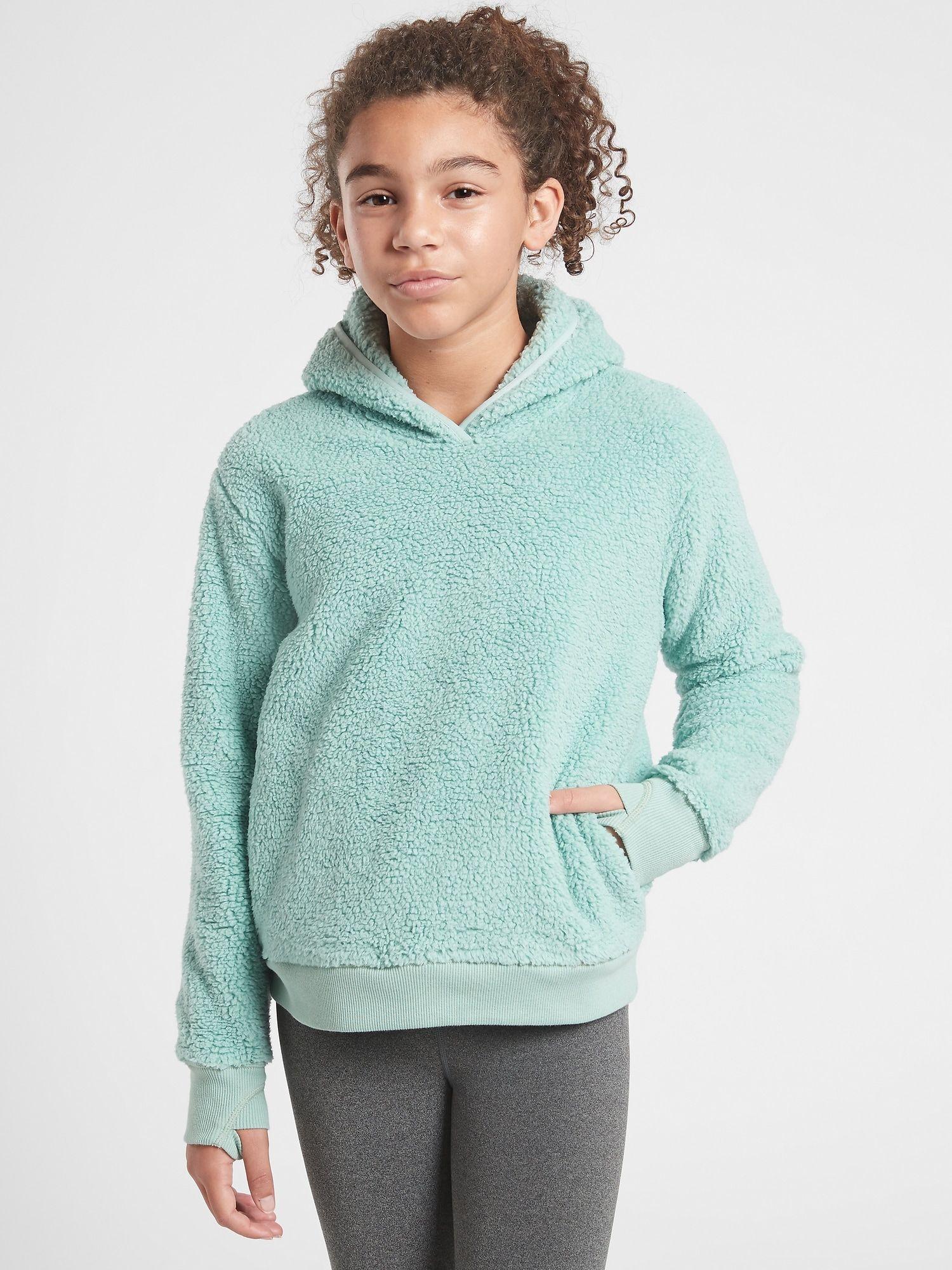 Athleta Girl So Snug Sherpa Hoodie 2 0 Athleta In 2021 Sherpa Hoodie Girl Sweatshirts Hoodies [ 2000 x 1500 Pixel ]