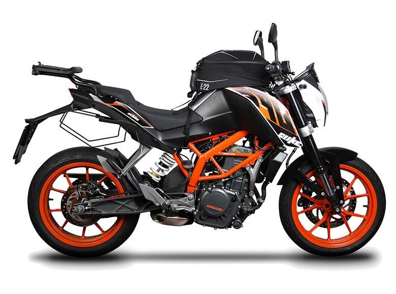 Good News For Ktm Duke Owners In India Shad Luggage Coming Soon