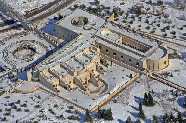 Beautiful buildings in Israel