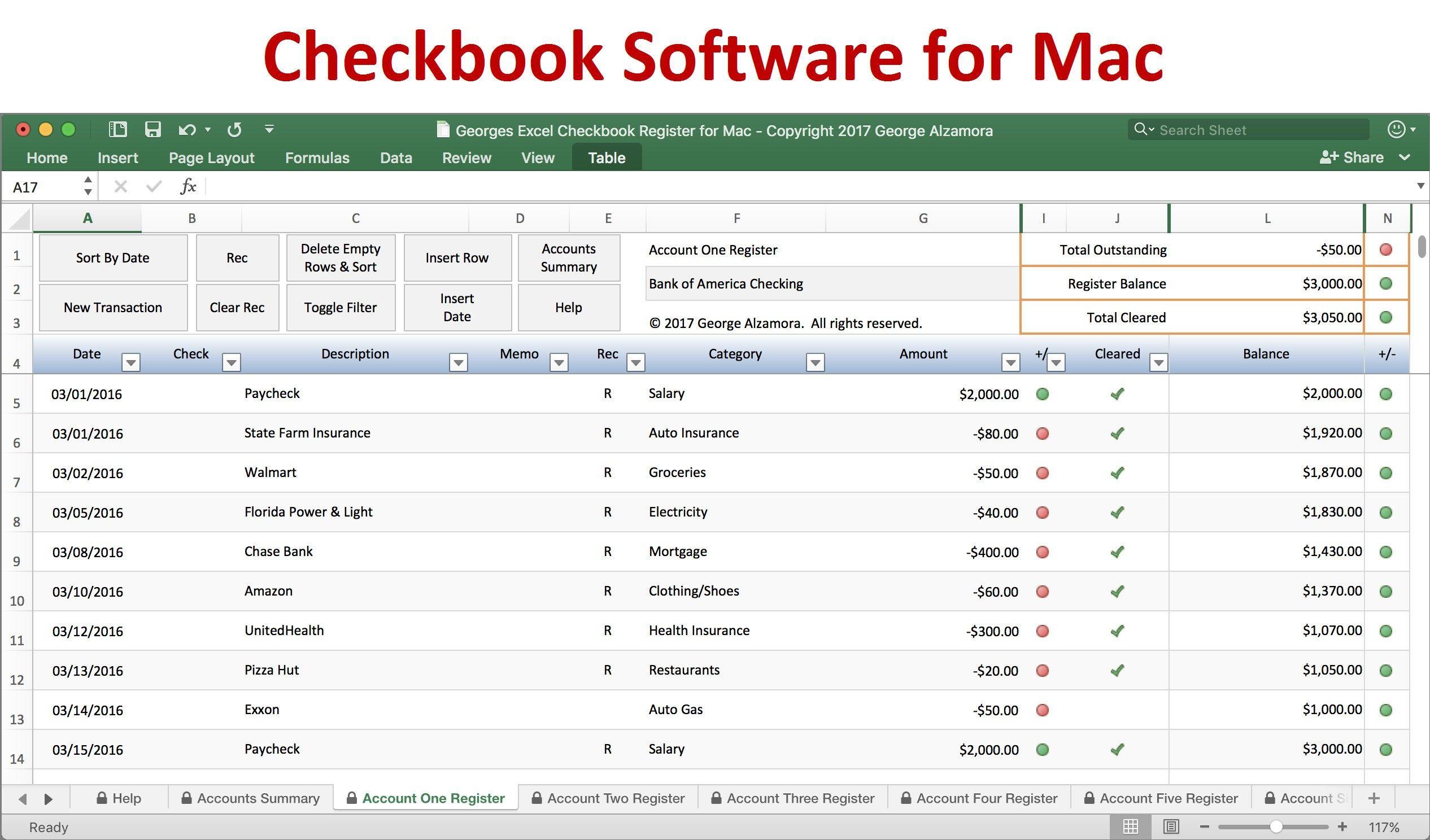 Unique Excel Bank Register Exceltemplate Xls