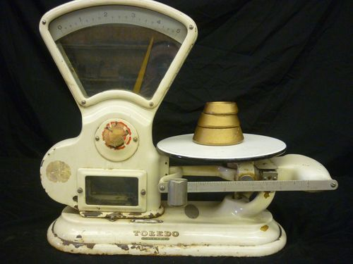 Vintage Toledo Scale | Scales | Toledo scale, Old scales, Vintage