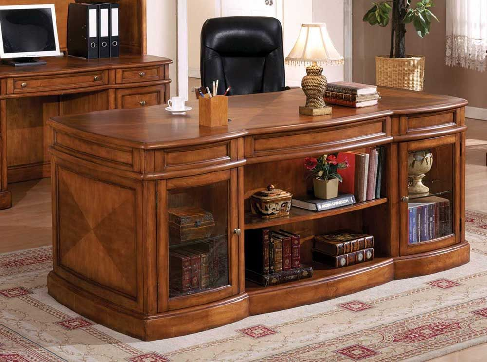 Executive Desk Computer Desks For Home More Efficient Wooden