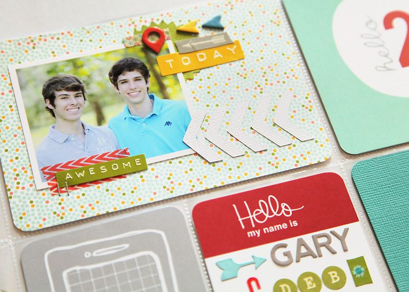 deb duty {photography + scrapbooking}: project life class: day by day