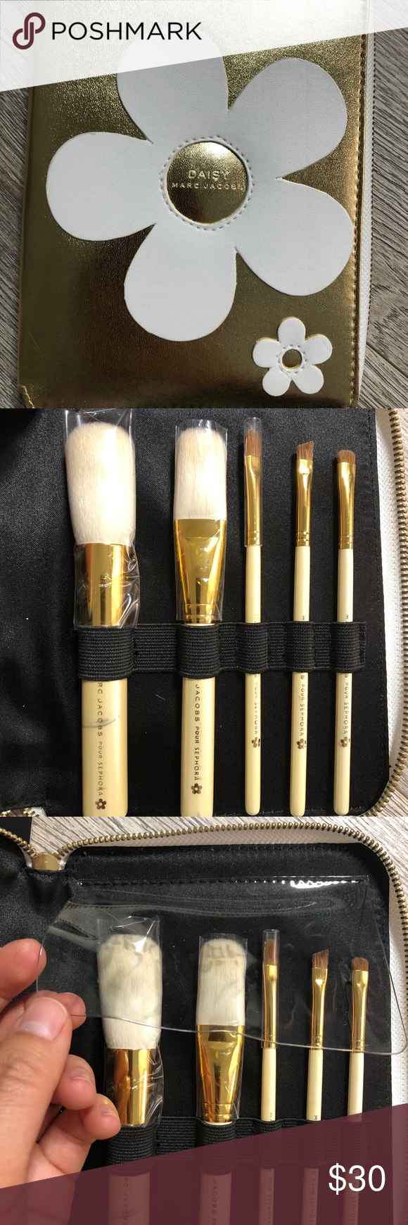 Daisy Marc Jacobs Makeup Brush Set Rare limited edition