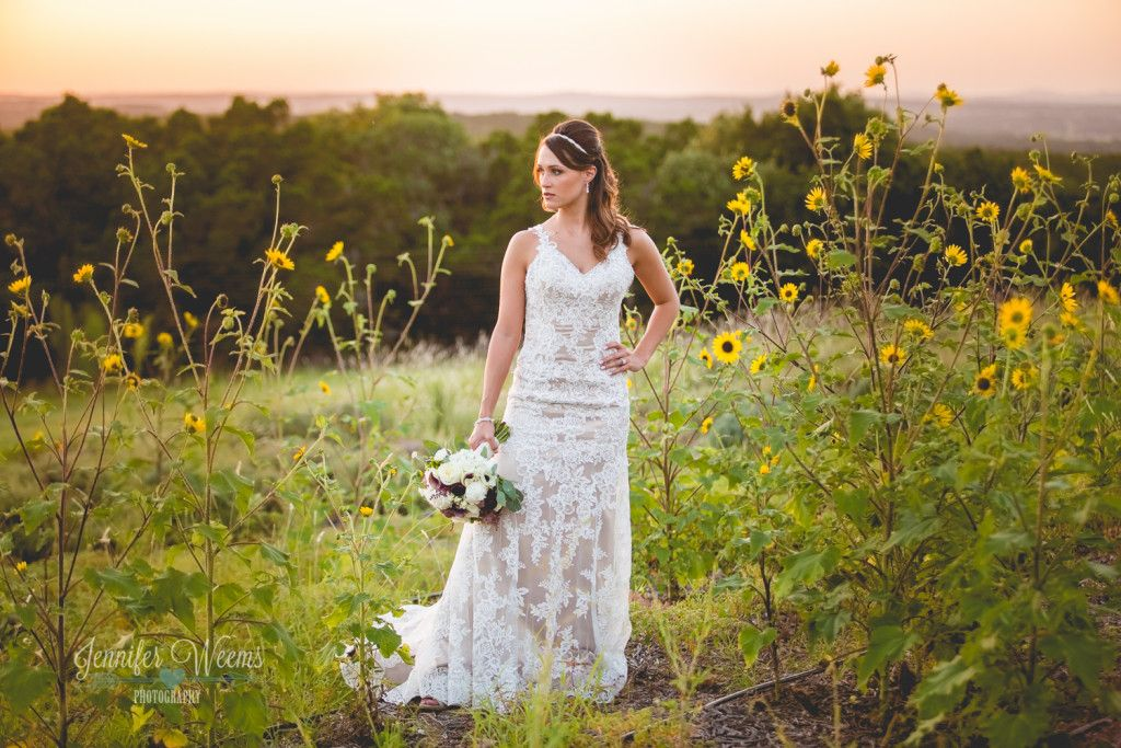 Wedding Dress Rancho Mirando Bridal Photo By Jennifer Weems Photography Hill Country Venue Austin