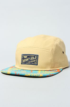 156ad8cb1000b The Exclusive Tribal 5-Panel Hat by Benny Gold