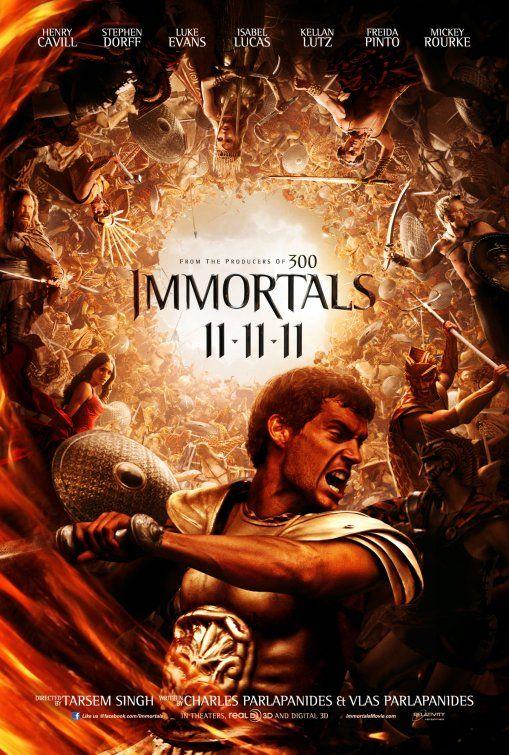 Inspiracao Cartazes De Cinema Immortals Imortais Filmes Hd