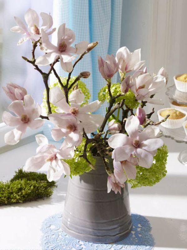 Erstaunlich Baumzweige Und Blüten Für Tisch Dekoration   2014   Frühlingsdeko 2014 U2013 50  Neue Designer Deko Trends