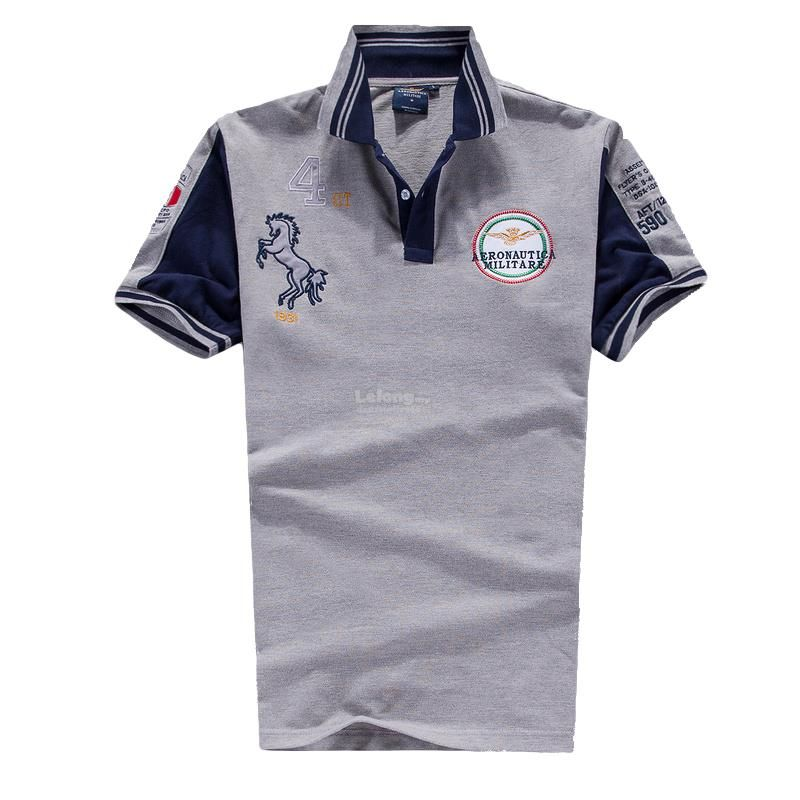 Italy Aeronautica Militare Air Force Men Pilot 4st Polo T
