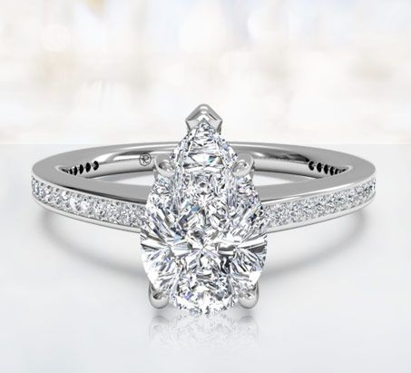 to three thumbnail diamond rings p wedding ring pear engagement zoom co tap stone shaped shane