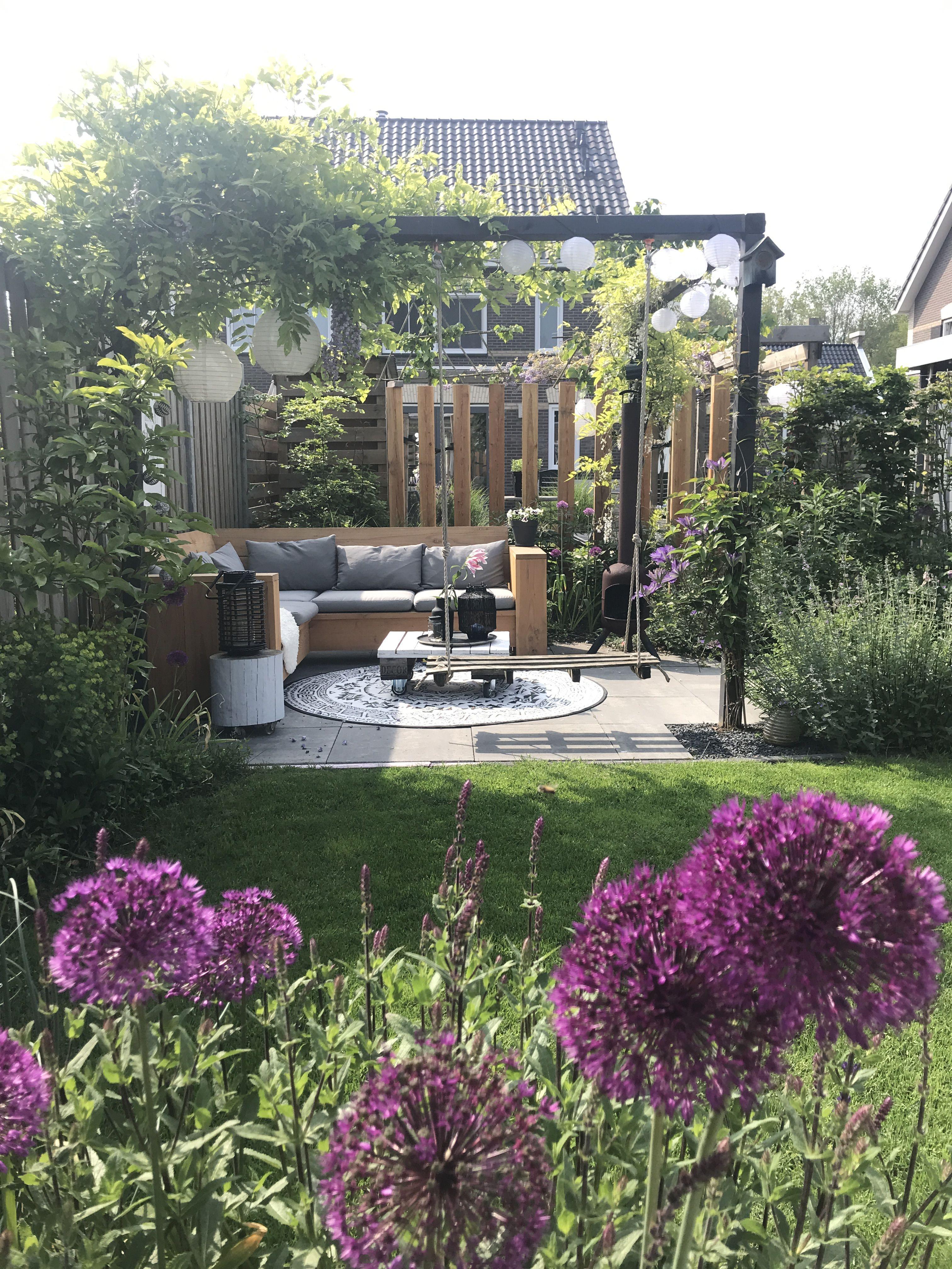 Tuin - Binnenkijken bij washplate