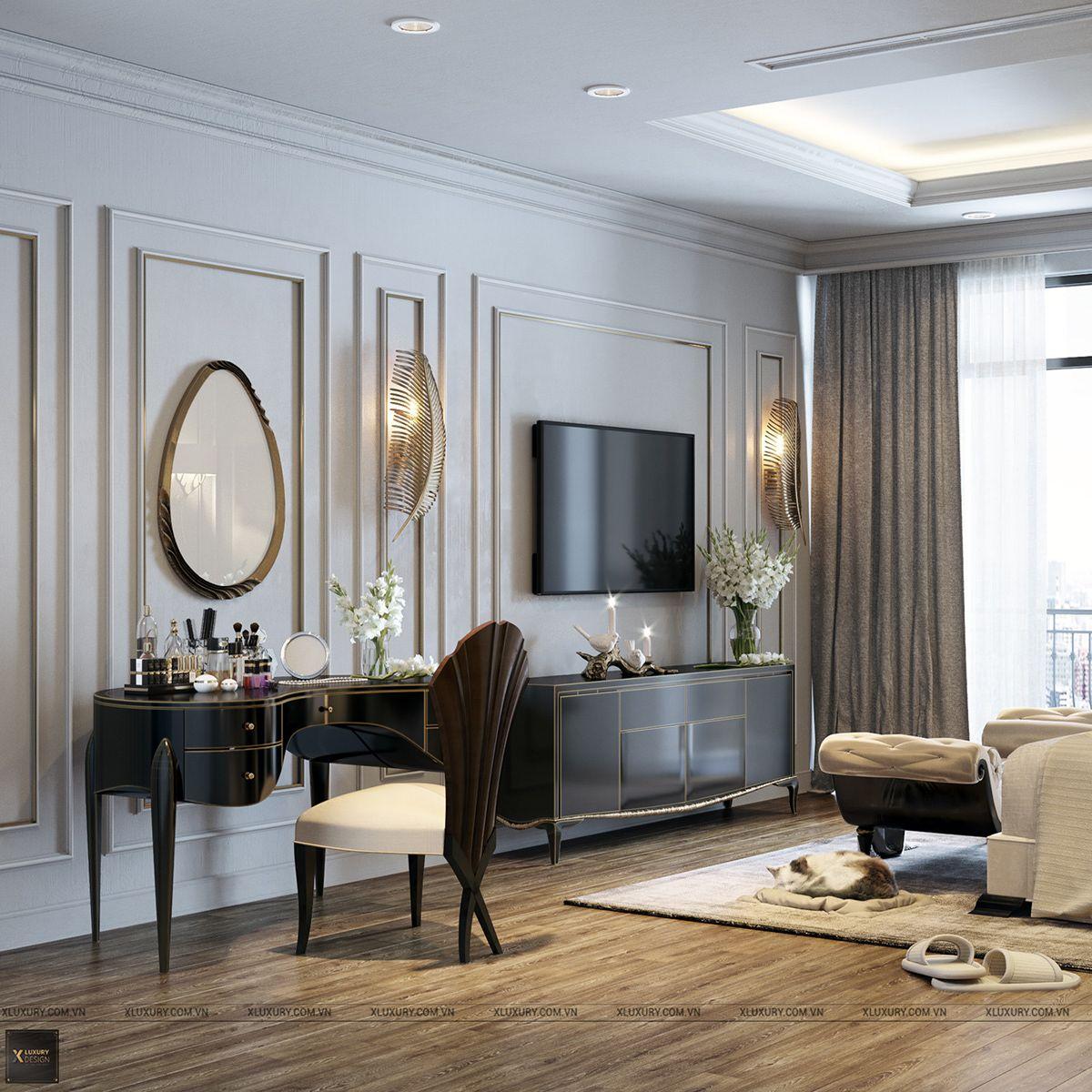 Luxury Master Bedroom Dubai On Behance: Bedroom On Behance In 2020
