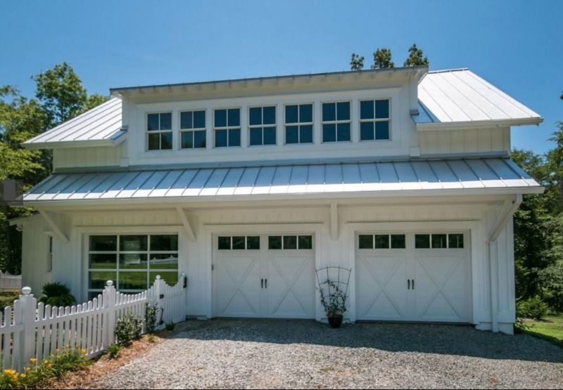 Awning   Modern White Farmhouse For Sale In North Carolina