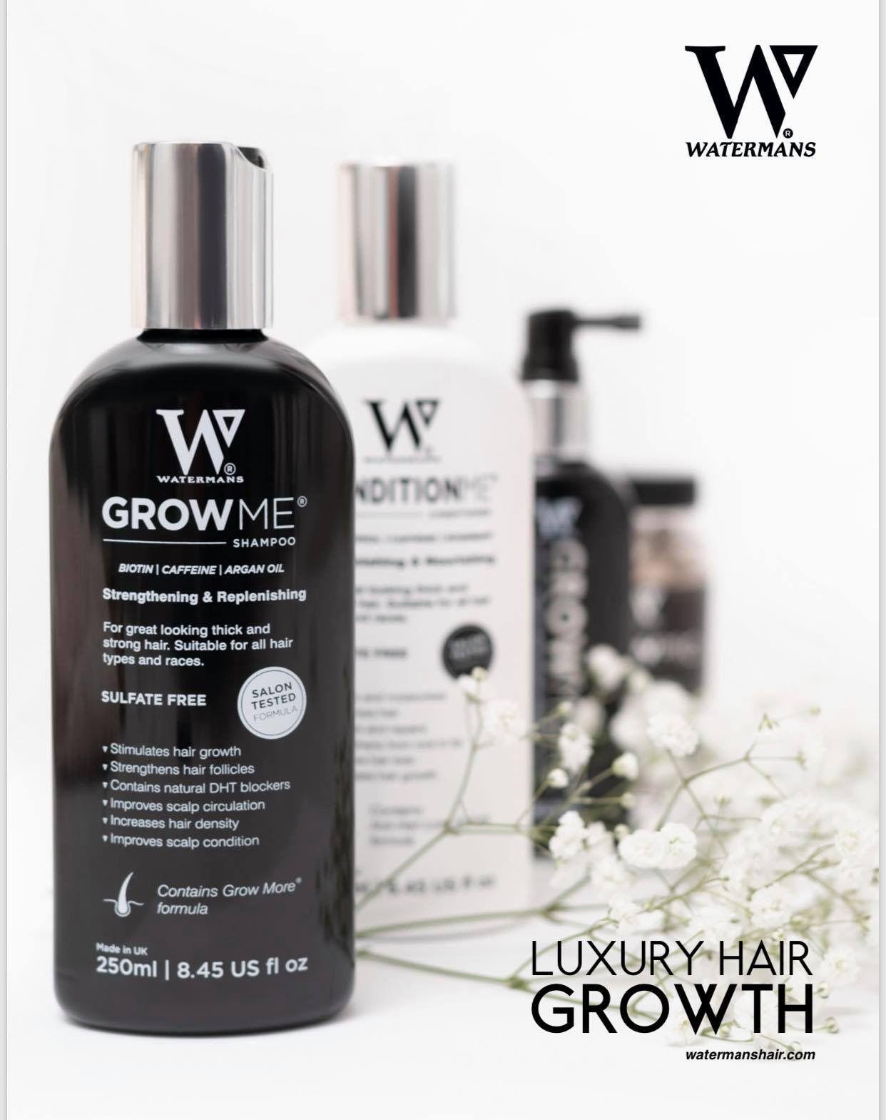 Waterman S Growth Shampoo Natural Dht Blocker Hair Growth Shampoo