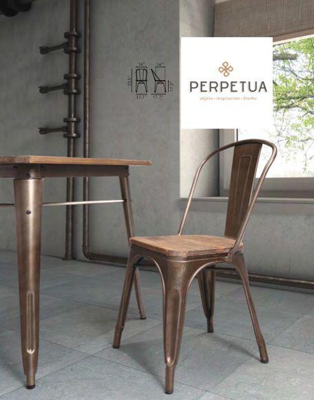 Vintage en todo su esplendor sillas mesas comedor - Ver muebles de comedor ...