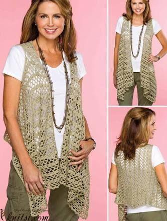 Resultado De Imagen Para Crochet Vest Pattern Free Bucketlist