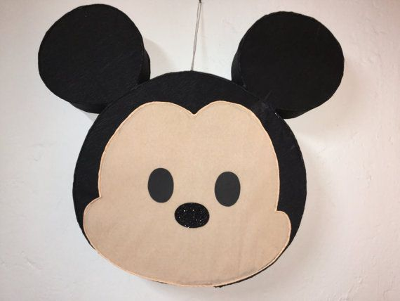 tsum tsum Mickey Mouse Pinata Inspired Mickey mouse party
