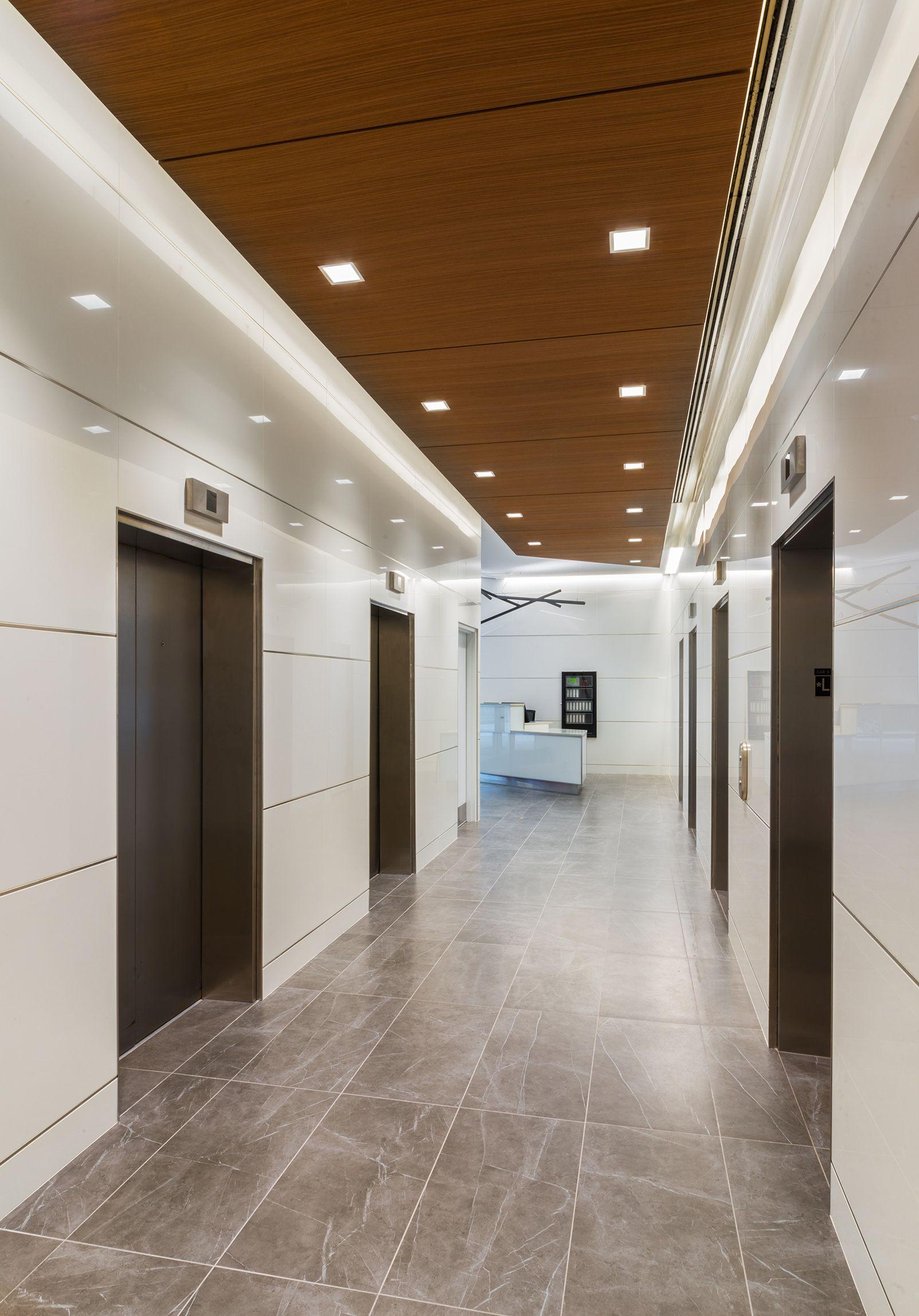 Elevator Lobby Inspiration. Design by Wright Heerema ...