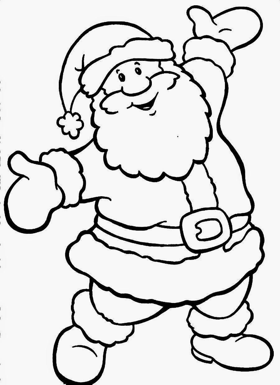 ausmalbilder weihnachtsmann mit schlitten kostenlos