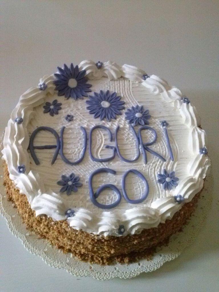 Torta Compleanno 60.Torta Compleanno 60 Anni Torte Ricette Pasta Di Zucchero